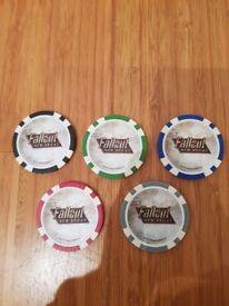 Fallout New Vegas Poker Chips