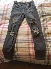 Women's Topshop Jamie Jeans w28 l30