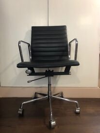 Eames Inspired High Back Ribbed Office Chair