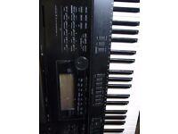 casio wk 7500 76 note keyboard in working order