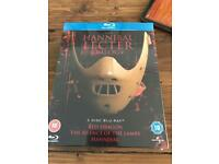 Hannibal Lecter Trilogy Blu-ray New and sealed