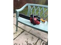 2 chainsaws spares or repairs