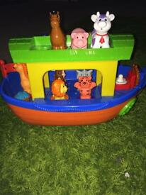 Noah's ark music toy