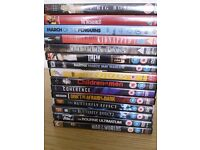 Selection of DVD's Fifteen in total .certificates PG,12,15,and one 18,