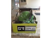 SHRED READY FORTY 4 SNOW HELMET Flash Green RRP £69