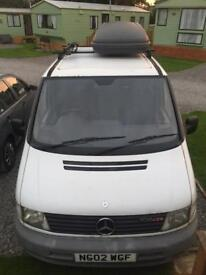 Campervan Mercedes Vito converted priced to sell