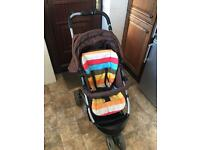 Cosatto 3 wheel pushchair message me through gumtree problem with phone