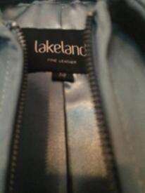 Ladies grey suede jacket - As new, never worn