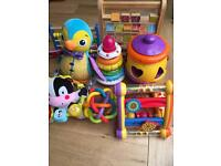 Bundle of top quality baby toys.