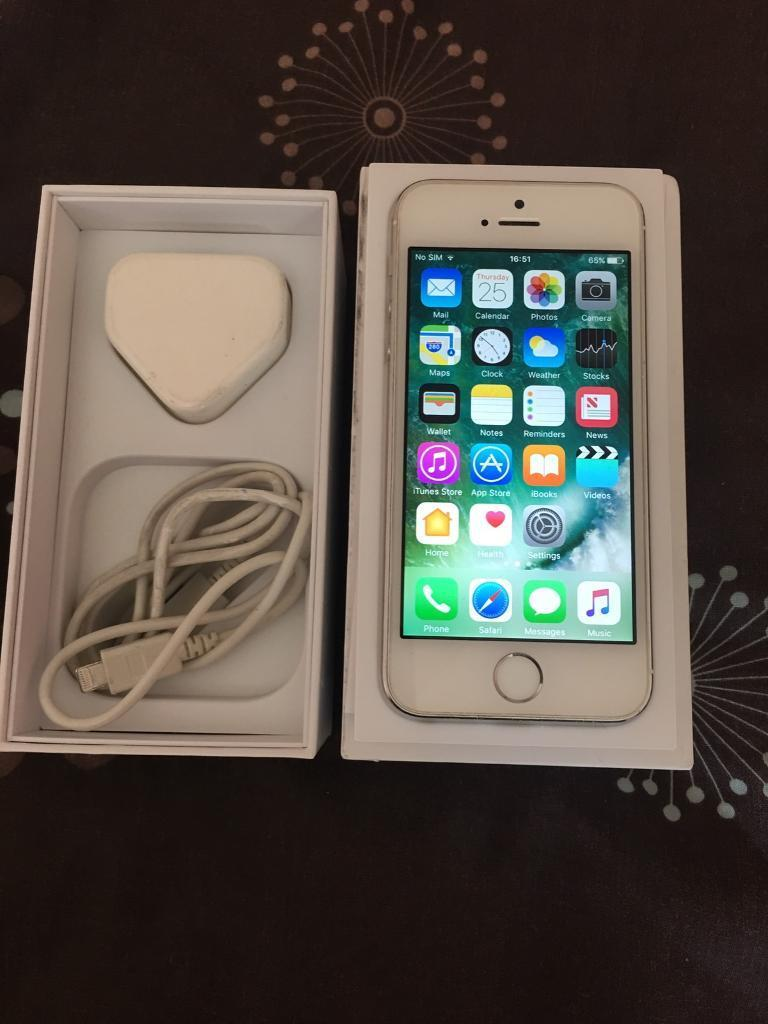 iPhone 5s 16gb Unlockedin Blackburn, LancashireGumtree - iphone 5s 16gb Unlocked White and greyGood condition Comes with phone, box and chargerCan deliver£120