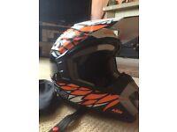 KTM dynamic motorcross helmet