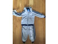 Adidas tracksuit 9-12 months