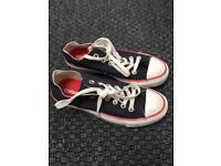 Converse all stars size 5 -as new
