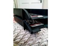 Letter trays x 2 £1 - black, new unused