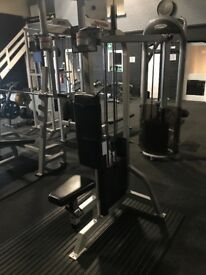 Life fitness pec and rear fly and assisted tip and pull up machine . £400 each