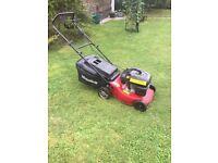 Mount field lawn mower