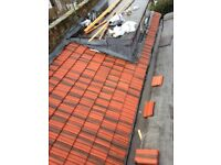 Roof repairs across London - pitched roofs, flat roofs, guttering, flashings, soffit & fascia.