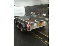 Ifor Williams twin axel 2600 kg trailer 9x5