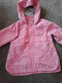 Next girls jacket 9-12 months