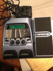 DigiTech bp200 effects pedal