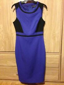 Going out/office wear blue dress from Dorothy Perkins