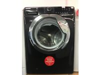 HOOVER 9KG LOAD GRADED DIGITAL SCREEN WASHING MACHINE IN BLACK