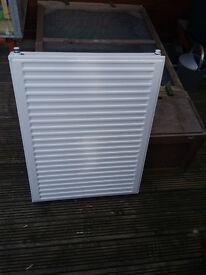 radiator single panel 600mm high 800mm wide never used