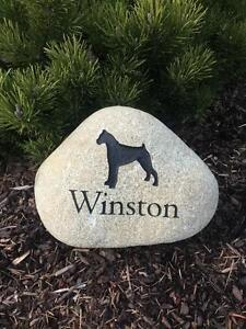 Custom Engraved Pet Memorials
