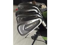 Wilson ultra irons and king cobra diver/3wood