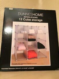 12 Cube Storage boxes