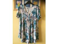 2 ladies tunic tops