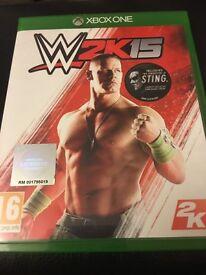 Xbox 1 W2K15 Game £6