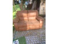 2 seater sofa recliner. Great sofa