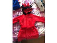 M&S Minnie Mouse dressing gown