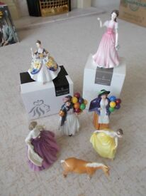ROYAL DOULTON FIGURINE BONE CHINA PORCELAIN ORNAMENT COLLECTION (Bitcoin accepted)