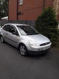 Ford fiesta finesse 1.2 05 105k full 12 month mot good condition drives perfect low cost to run