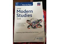 Hodder Gibson CfE Higher Modern Studies 'How to Pass' Revision Guide.