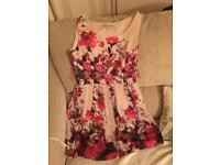 Stunning flower dress perfect for a wedding