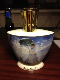 Lampe Berger Gift Box Set Claude Monet's painting of his wife. Oil Burner. Brand new.