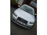 Audi A3 Sport tdi,170bhp,3 door,full service history,cheap to run,tax & insure, 2 keys