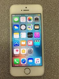 Apple iPhone 5s 16GB on 02 network