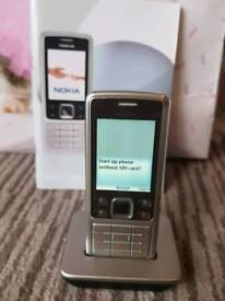 Classic Nokia 6301 Orange