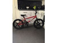 Brand New Boys Zinc Backbone BMX 20 Inch Red