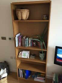 IKEA Billy oak bookcase - 6 adjustable shelves. Excellent condition!