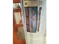 5ft Bed Mattress. Sleepeeze in very good clean condition.