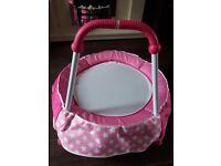 Chad Valley Pink Toddler Trampoline
