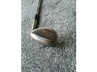 Lob wedge and putter