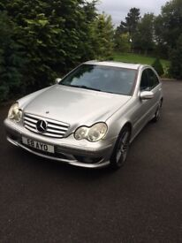 2002 Mercedes c32 AMG 356bhp every day supercar