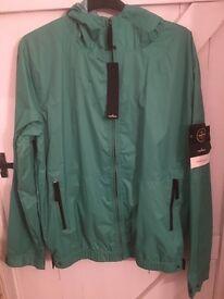 Stone island membrana tc hooded jacket XXL