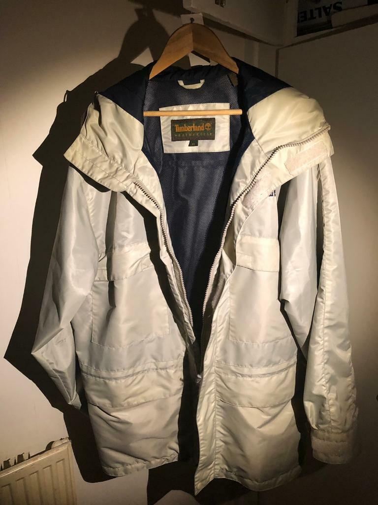301fcad2136 Men's Timberland WeatherGear raincoat. Men's XL. Beige. | in Selly ...